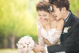 【森系婚纱照】天长地久婚纱摄影