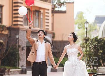 南川欧式小镇拍摄,婚礼摄影