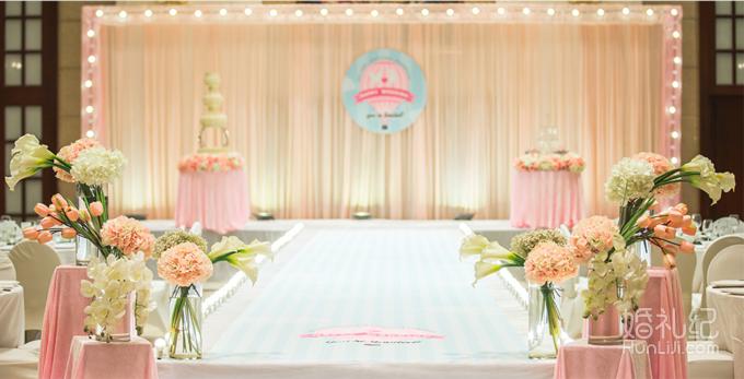 婚礼纱幔造型制作图解