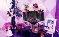 复古小香风主题婚礼