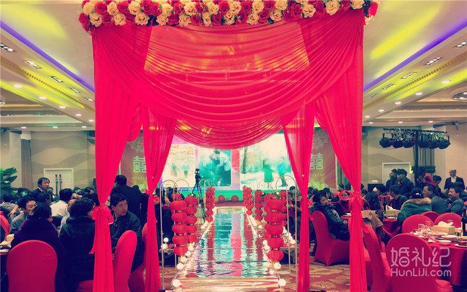 唯美中国风主题婚礼