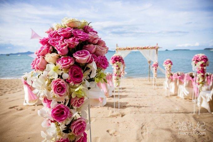 璐斐海外婚典——泰国苏梅岛沙滩婚礼钻石套系