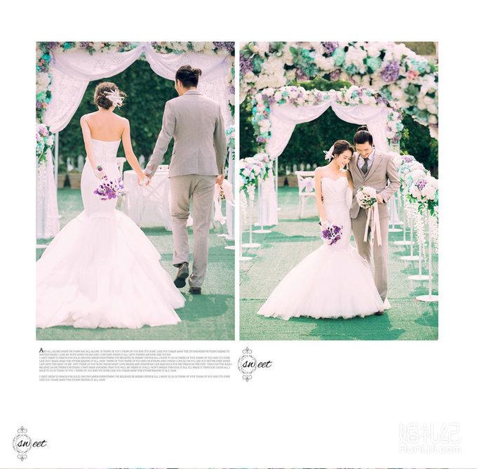 西式花园婚礼样片,婚礼摄影