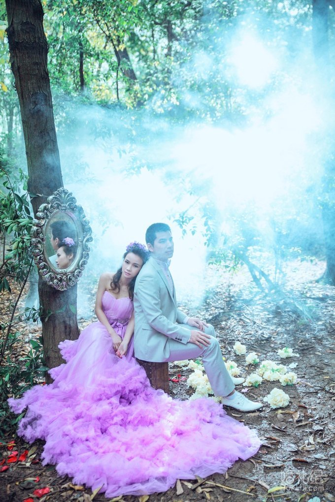 森系婚纱照,婚礼摄影,婚礼纪