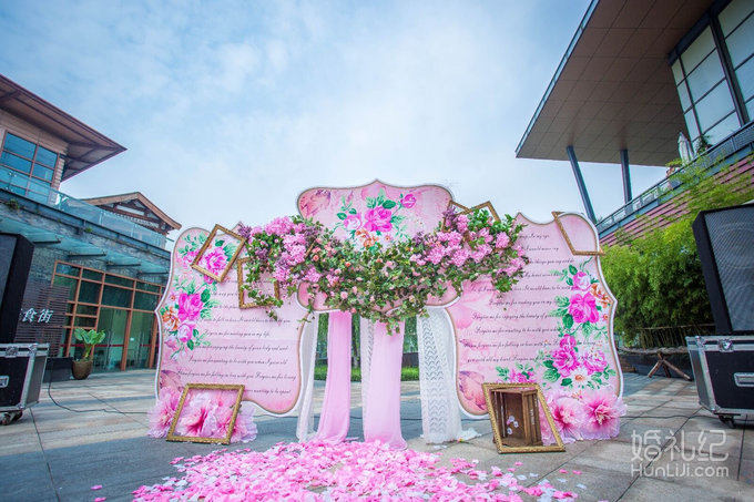 【alis婚礼】粉色户外唯美婚礼