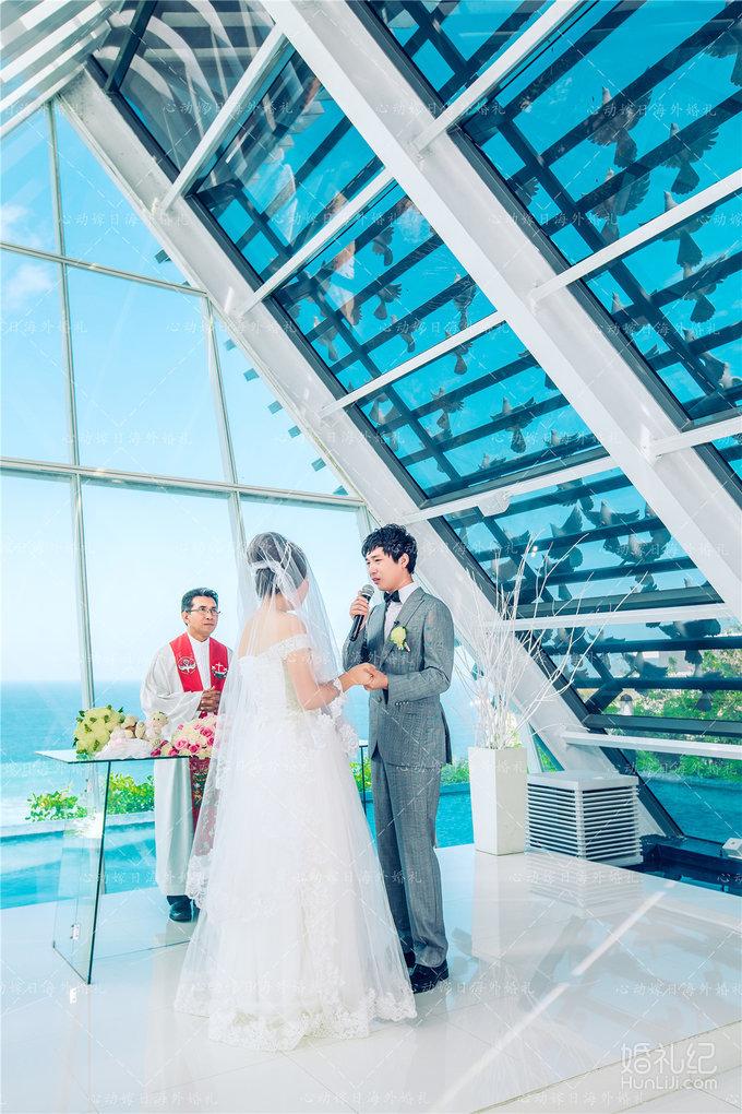【心动嫁日海外婚礼】巴厘岛悦榕庄圣鸽教堂婚礼