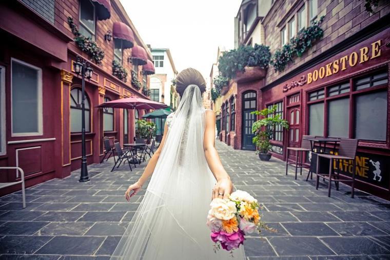 街拍婚纱照 客片二