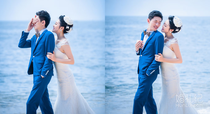 梦幻婚礼 海边热恋  白色沙滩畅拍 浪漫椰林】 海边马场 浪漫夜景 18