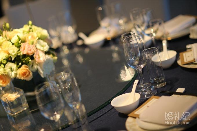 婚礼欧式客桌花9桌 鲜花路引2组