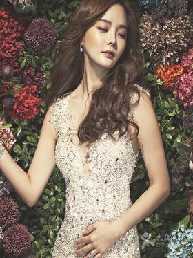【丽莎皇宫】时尚新娘蔡琳款婚纱