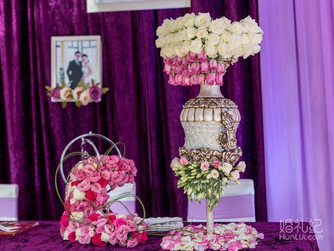 神秘梦幻紫色系婚礼《y&l》