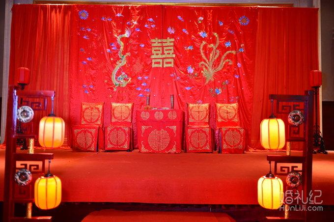 沈阳中式婚礼图片