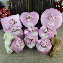 创意2015欧式马口铁结婚喜糖盒子铁盒批发 婚庆用品婚礼糖盒