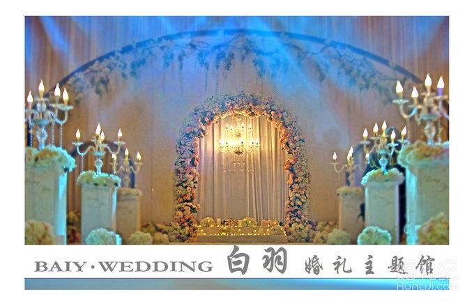 香槟色主题婚礼,婚礼策划作品