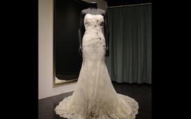 MarryMe高级婚纱定制 奢华超重工钉珠鱼尾