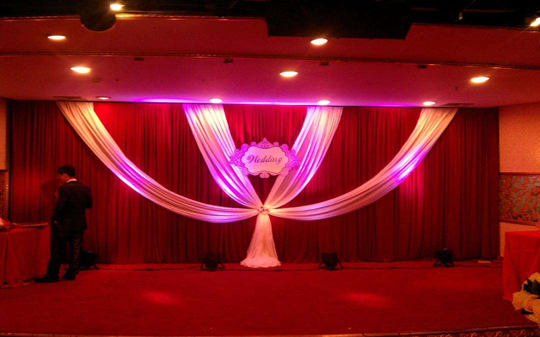 红色系婚礼