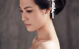 新娘化妆造型美甲 跟妆图片