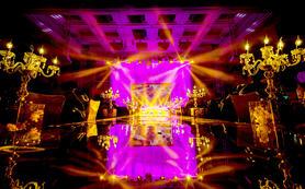 武汉红馆婚庆|尊贵人生|心形龙珠造型灯