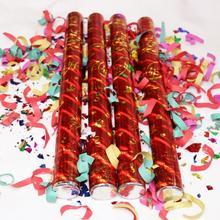 结婚礼炮 手持彩带礼宾花 婚礼道具庆典礼花筒