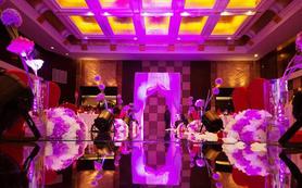 紫色系婚礼
