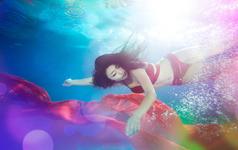 【菲心客片】艺术写真—水中精灵