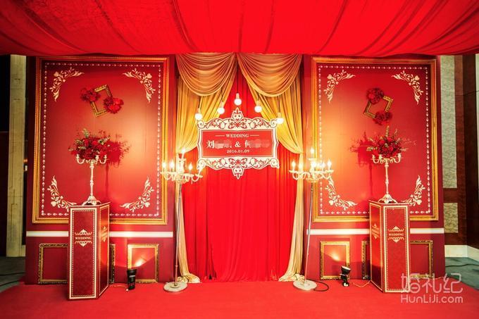 6.新人logo设计  仪式区 1.仪式亭 : 个性红色主题仪式亭设计 2.