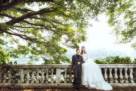 婚纱照-广州世界大观之景
