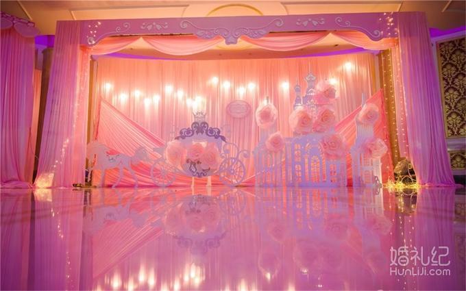 【爱尚侬】遇见-唯美粉色-国际会议中心,婚礼策划公司