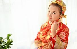 【MT名堂高级婚纱礼服】古典中式龙凤褂