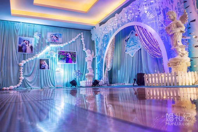 蓝色系婚礼,婚礼策划公司