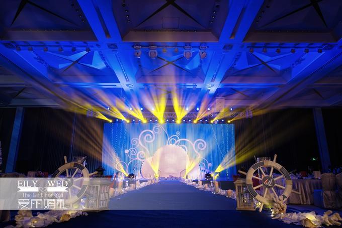 海洋风宝宝宴,婚礼策划公司