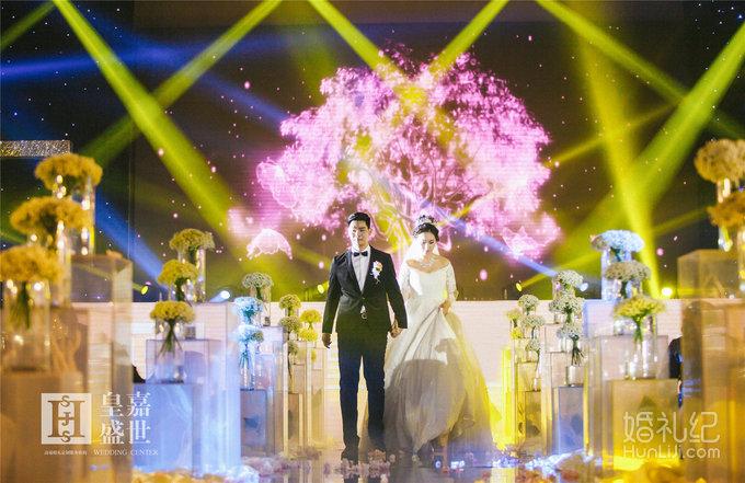 07 婚礼场地:武当国际酒店3楼金色大厅 婚礼主题:《樱花梦》 婚礼摄影