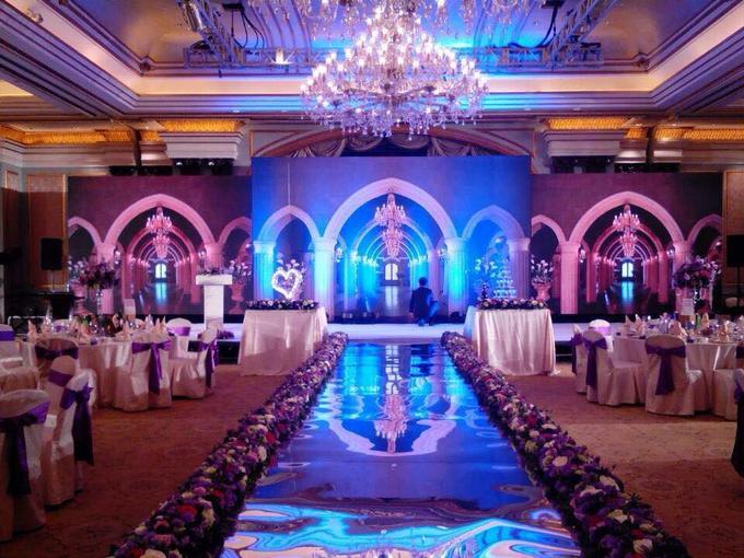 led大屏背景超值套餐,婚礼策划公司,婚礼纪 hunliji.