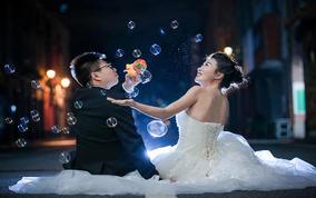韩式小清新婚纱拍摄(真实客片展示)