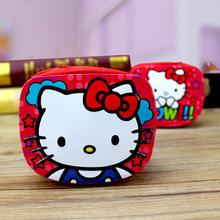 定制 新颖可爱个性创意Kitty米奇奶嘴实用零钱包铁喜糖盒结