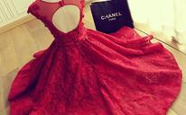 2016新款婚纱礼服新娘敬酒服旗袍短款结婚宴会晚礼服红色显瘦