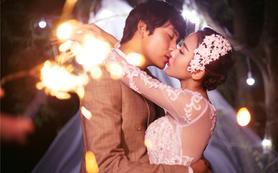 唯我珍爱唯美纪实中式欧式韩式婚纱照《星月》系列