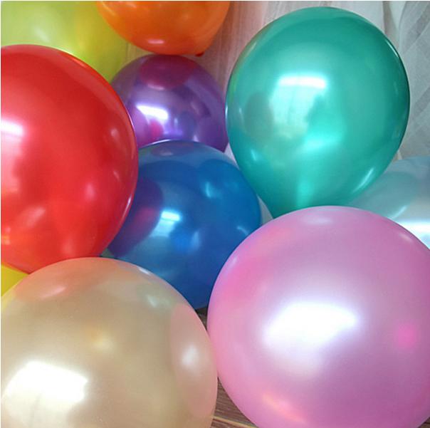 【全店满30元包邮】婚房装饰汽球珠光氢气球派对创意