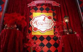 【红影定制】红黑主题婚礼