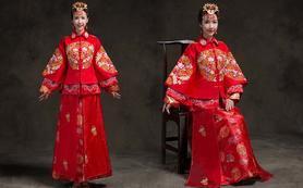 2016春季新款嫁衣复古秀禾服新娘礼服中式礼服
