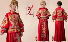 秀禾服龙凤褂新娘中式结婚礼服敬酒服嫁衣旗袍