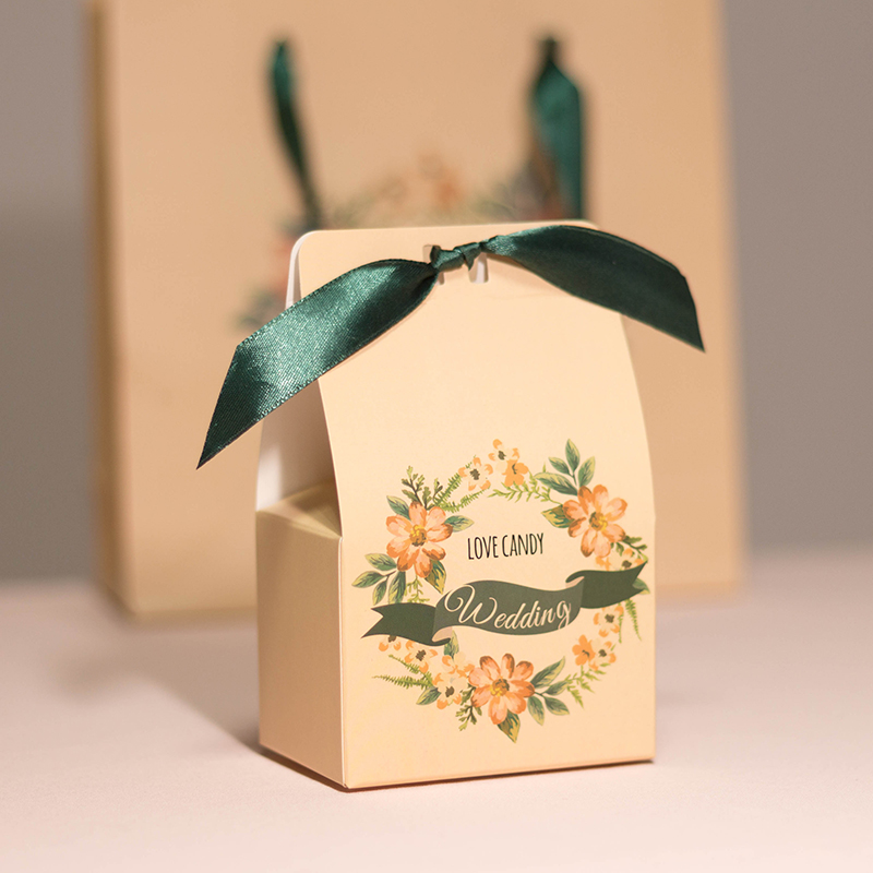 范妮范 绿野仙踪森系风格喜糖盒子纸盒婚礼用品高档