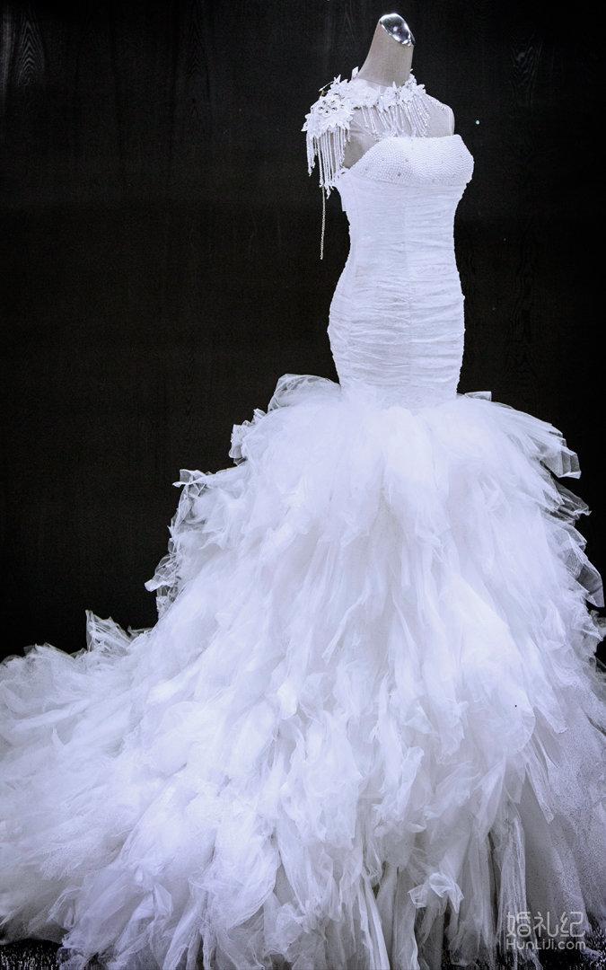 鱼尾,婚纱礼服设计作品欣赏