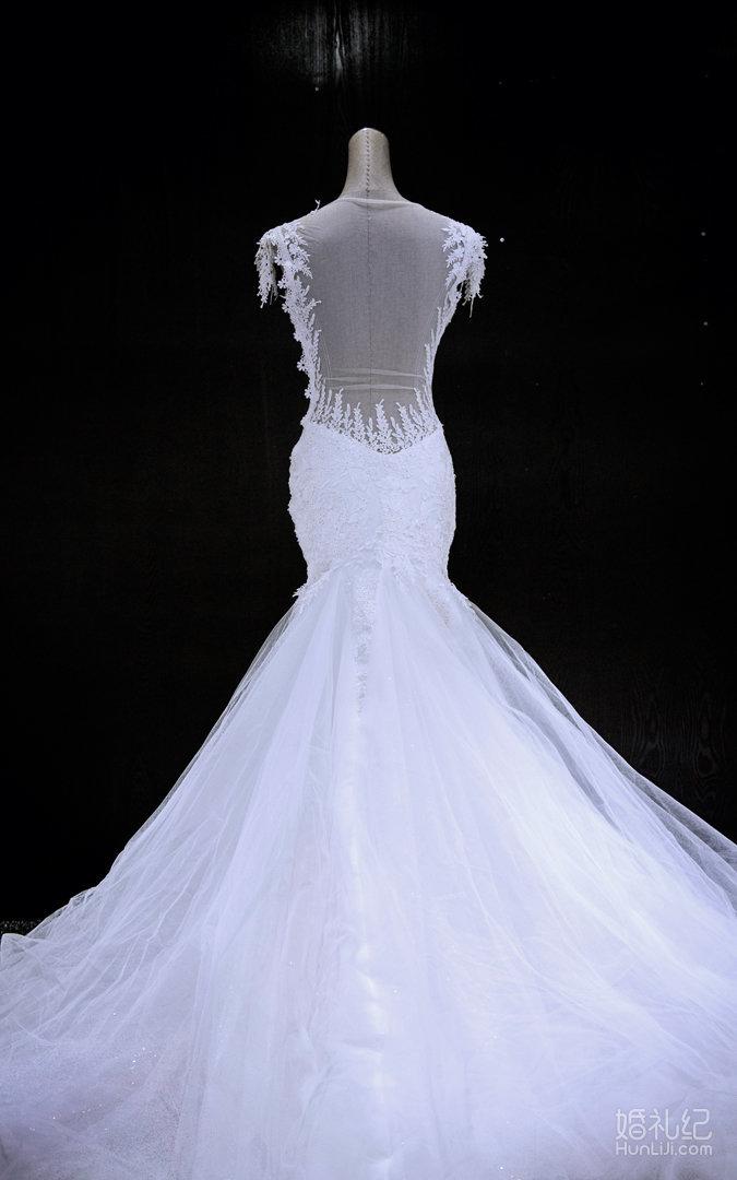美人鱼鱼尾款,婚纱礼服设计作品欣赏