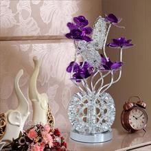 LED台灯 铝材铝线创意艺术卧室床头台灯结婚婚庆时尚台灯