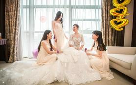 【婚拍贴心组合】双机位婚礼电影+单机婚礼摄影