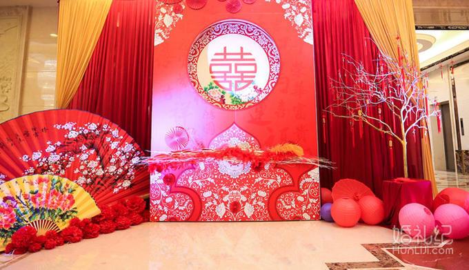 凤求凰-中式婚礼图片
