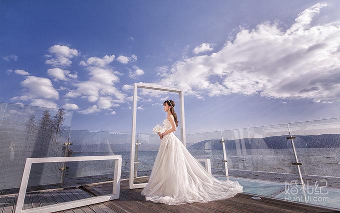 抹胸半透明齐地纱,婚纱礼服设计作品欣赏,婚礼纪 ji.
