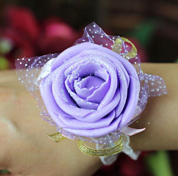 结婚婚庆用品礼品特价 新娘手腕花 伴娘姐妹手腕花丝带