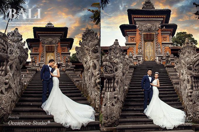巴厘岛婚纱摄影照